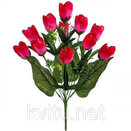 Искусственные цветы букет тюльпанов, 49см