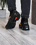 Мужские кроссовки на протекторной прошитой подошве (Кз-16зл-2), фото 4