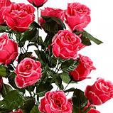 Искусственные цветы букет розы, 79см, фото 2