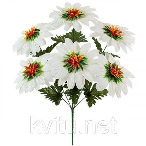 Искусственные цветы букет георгин садовых, 50см