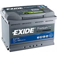 Аккумулятор 77Ah-12v Exide PREMIUM EA770 (278х175х190),R,EN760