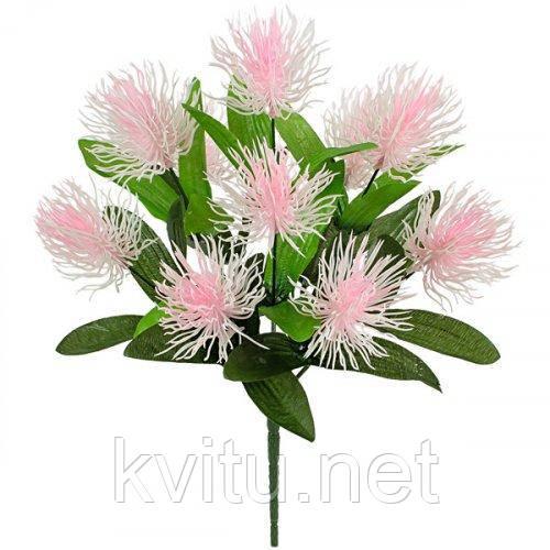 Искусственные цветы букет  пластиковый Аватар 9-ка, 37см