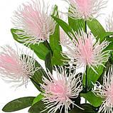 Искусственные цветы букет  пластиковый Аватар 9-ка, 37см, фото 2