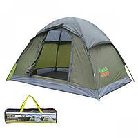Палатка двухместная для кемпинга Green Camp 1503
