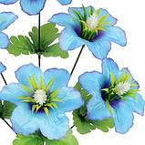 Искусственные цветы букет колокольчик атласный с кукурузкой , 48см, фото 2