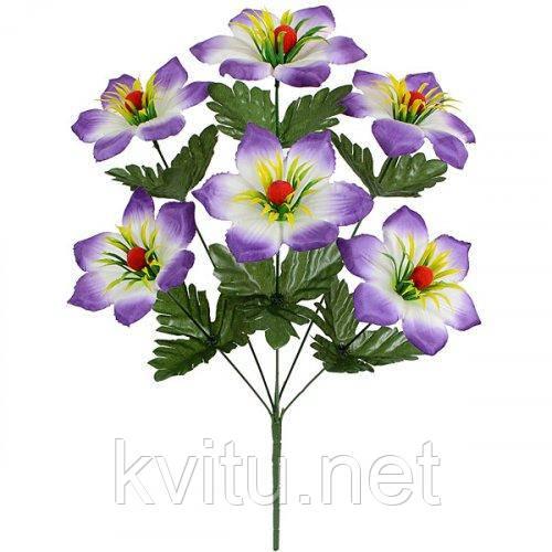 Искусственные цветы букет колокольчик Ягодка, 52см