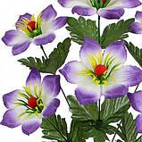 Искусственные цветы букет колокольчик Ягодка, 52см, фото 2