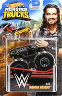 Внедорожник Hot Wheels Monster Trucks - Town Hauler - Roman Reigns - 2019 WWE. Монстр трак. Mattel Оригинал