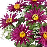 Искусственные цветы букет астры, 43см, фото 2