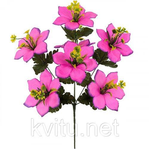 Искусственные цветы букет ландыши петушки, 49см