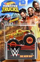 Внедорожник Hot Wheels Monster Trucks - Torque Terror - The New Day - 2019 WWE. Монстр трак. Mattel Оригинал