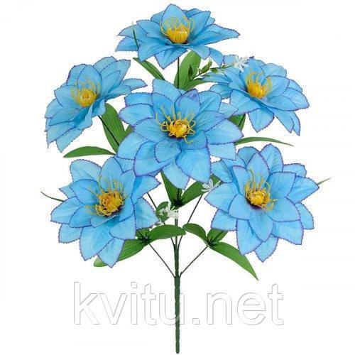 Искусственные цветы букет хризантема усатая, 58см