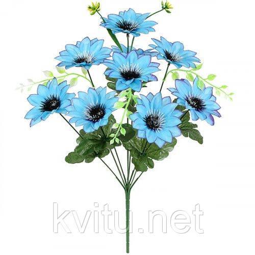 Искусственные цветы букет крокусы высокие, 48см