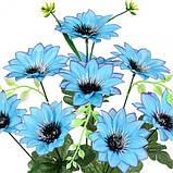 Искусственные цветы букет крокусы высокие, 48см, фото 2