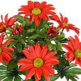 Искусственные цветы букет астры декоративные, 38см, фото 2