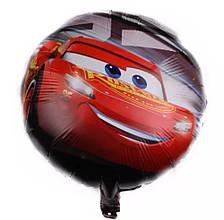 Воздушные фольгированные шары тачки молния маквин диаметр 45 см