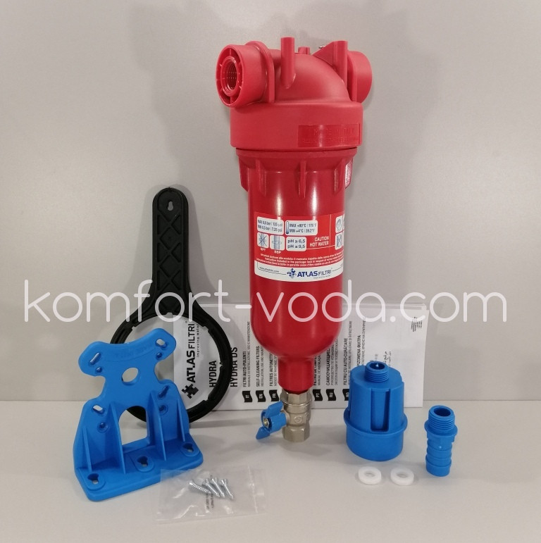 Фильтр для горячей воды Atlas Filtri HYDRA Hot 1/2 RAH 90 mcr IN