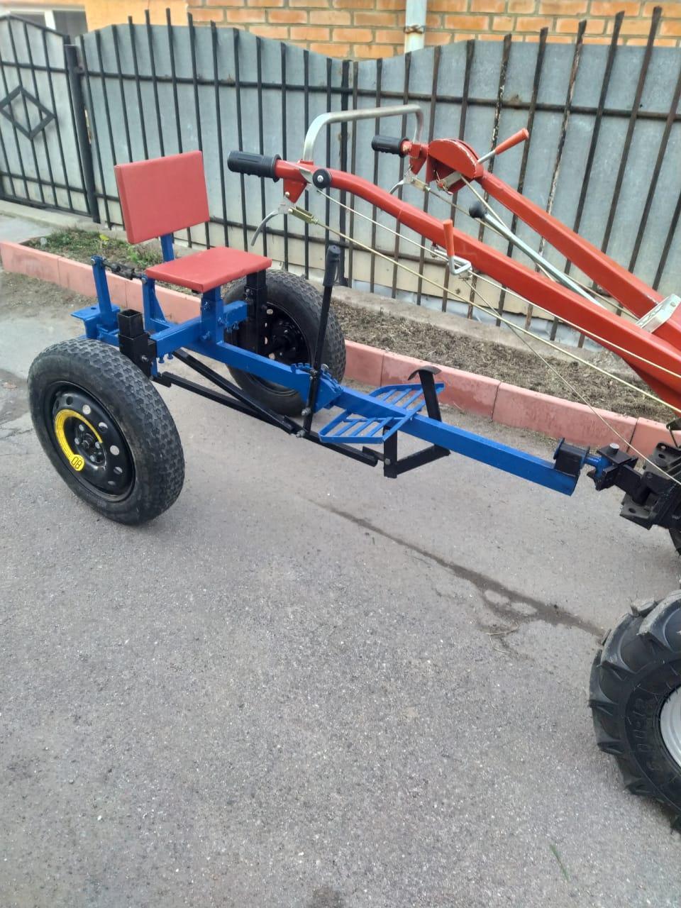 Адаптер для мотоблока ТМ Зализо под жигулевские колёса(регулируемое дышло)