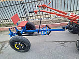 Адаптер для мотоблока ТМ Зализо под жигулевские колёса(регулируемое дышло), фото 4