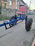 Адаптер для мотоблока ТМ Зализо под жигулевские колёса(регулируемое дышло), фото 7