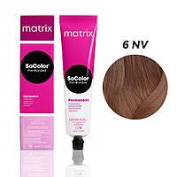 Матрікс Соколор Пре-Бондед, стійка крем-фарба для волосся, відтінок 6NV, 90 мл