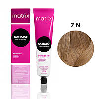 Матрікс Соколор Пре-Бондед, стійка крем-фарба для волосся, відтінок 7N, 90 мл