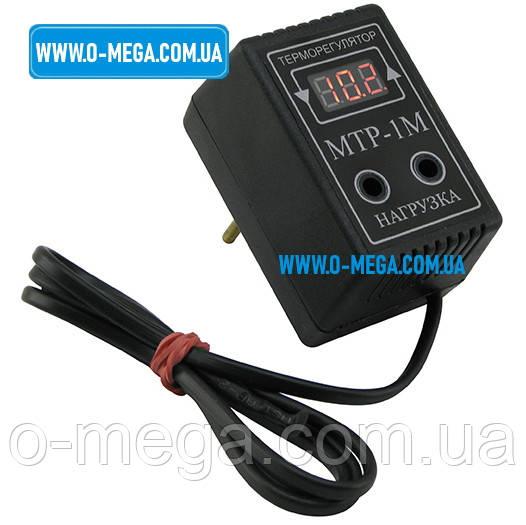 Терморегулятор цифровой МТР-1м в розетку (-30...+124)
