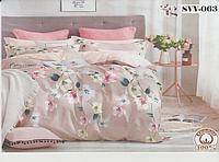 Постельное белье полуторное хлопок 100 % Комплект постельного белья Цветы