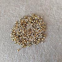 Стразы камушки цвет золотистый d-3,5(+-)мм уп.\10гр.(+-) купить оптом в интернет магазине