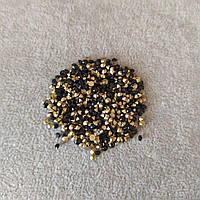 Стразы камушки цвет черный d-3,5(+-)мм уп.\10гр.(+-) купить оптом в интернет магазине