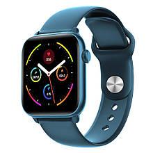 Умные часы King Wear KW37 с пульсометром Синий swkingwkw37blue, КОД: 1672474