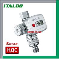 FR8 Регулятор давления воздуха с манометром для краскопульта, цифровой, манометр, редуктор на краскопульт