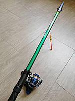 Комплект снастей для рыбалки, набор рыбака (удочка, катушка, леска, поплавок, крючок) - ПОЛНАЯ ПРЕДОПЛАТА!