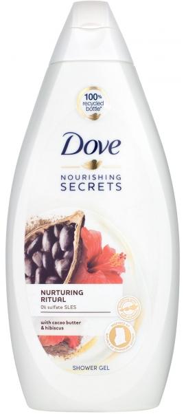 """Крем-гель для душа Dove """"Ритуал красоты. Питание"""" (500мл.)"""