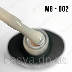 Гель-лак MG №002 (Double Spanish White), 8 мл