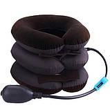 Надувной ортопедический воротник для шеи Tractors for cervical spine, фото 5