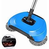 Механічна щітка-віник, швабра для прибирання підлоги Sweep drag all in one, фото 2
