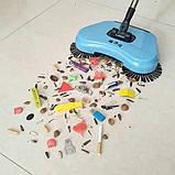 Механічна щітка-віник, швабра для прибирання підлоги Sweep drag all in one, фото 3
