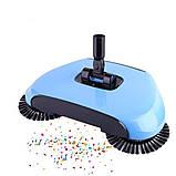 Механічна щітка-віник, швабра для прибирання підлоги Sweep drag all in one, фото 4