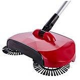 Механічна щітка-віник, швабра для прибирання підлоги Sweep drag all in one, фото 6