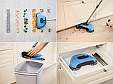 Механічна щітка-віник, швабра для прибирання підлоги Sweep drag all in one, фото 7