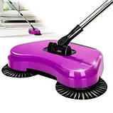 Механічна щітка-віник, швабра для прибирання підлоги Sweep drag all in one, фото 8