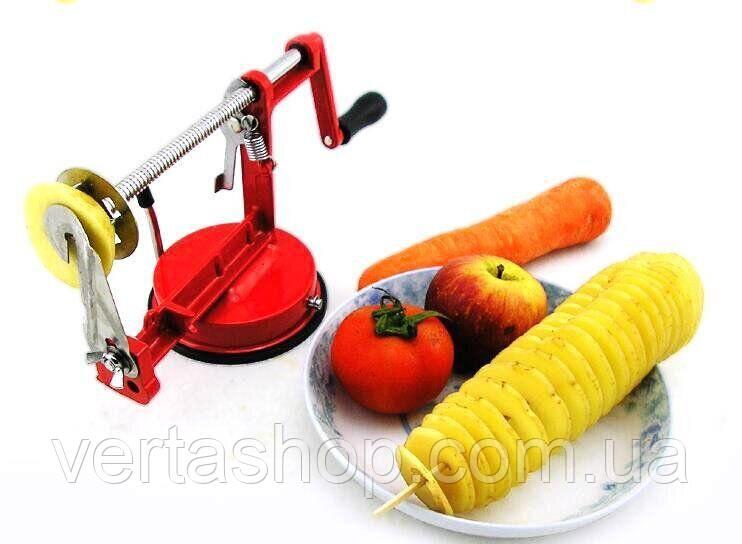 Машинка для спіральної нарізки картоплі Spiral Potato Slicer | картофелерезка | овочерізка | мультирезка