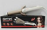 Професійний мультистайлер (плойка для завивки гофре) для волосся 4 в 1 gemei gm 2962, фото 2