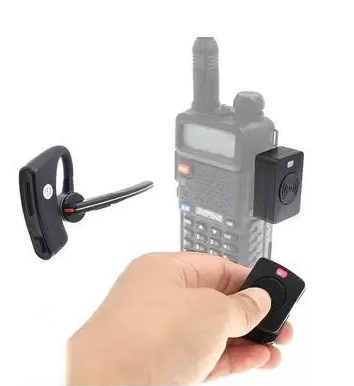 Bluetooth гарнитура AD-01 для раций 📞Baofeng 📞Kenwood 📞Wouxun 📞Quasheng