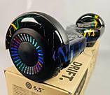 Гироборд Smart Balance Гироскутер 6,5 дюймов от 4х лет Цветная молния + ПОДАРОК СУМОЧКА, фото 4