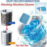 Cредство для чистки стиральных машин Washing machine cleaner deep clean formula, фото 2