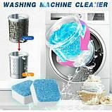 Cредство для чистки стиральных машин Washing machine cleaner deep clean formula, фото 9