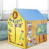Детская игровая палатка-домик School House, фото 2