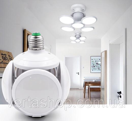 Світлодіодна Складна E27 Лампа Led football new bubble